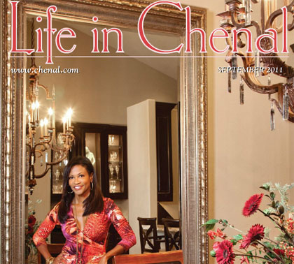 Read Donna's Cover Story in Life in Chenal Magazine