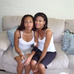 Queah and Mommy